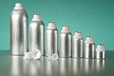 Aluminum Bottles rose oil packaging