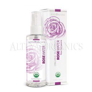 Rose Organic Water