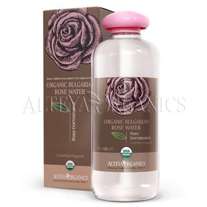 bulgarian rose organic flower water 500 ml