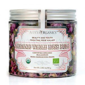 Organic Whole Rose Buds