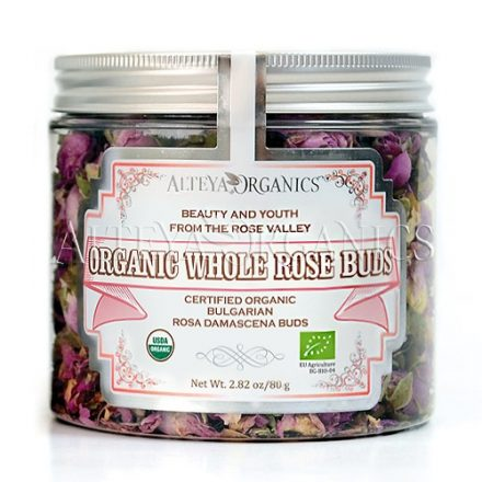 Organic Whole Rose Buds