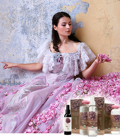 Rose Water Applications