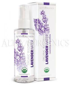 Lavender flower water spray