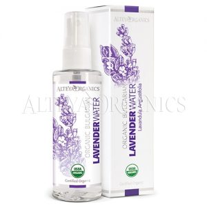 Lavender flower water spray