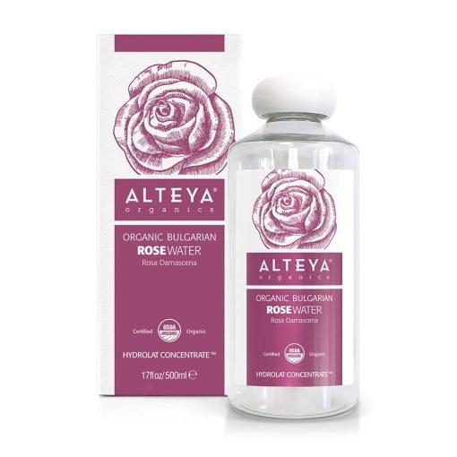 organic rose water