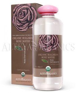 bulgarian rose organic flower water 500 ml