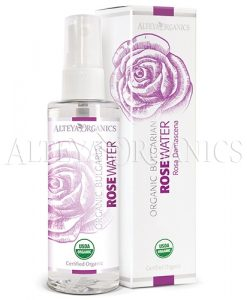 organic rose flower water