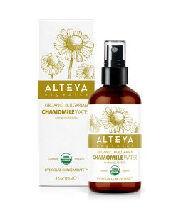 Bulgarian Organic Chamomile Water – Amber Glass Spray