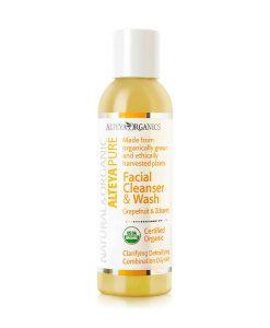 Facial Cleanser & Wash – Grapefruit & Zdravetz