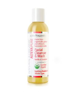 Facial Cleanser & Wash – Vanilla & Geranium