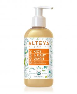 Organic Baby Wash Mild and Gentle 250 ml