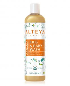 Organic Baby Wash Mild and Gentle 400 ml