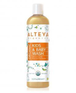 Organic Baby Wash Mild and Gentle 400 ml