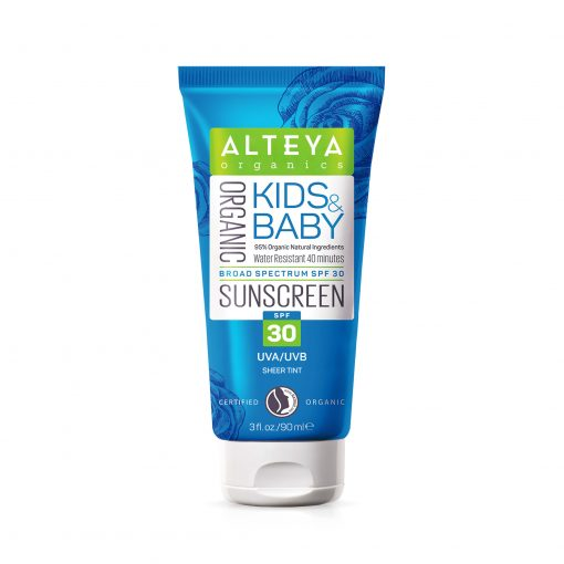 Organic Kids and Baby Sunscreen