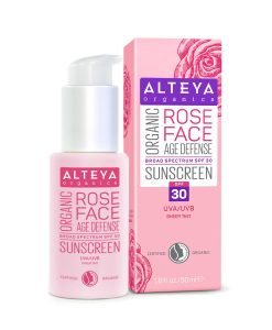 Organic Rose Face Sunscreen