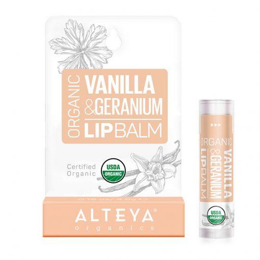 Vanilla Geranium Lip Balm