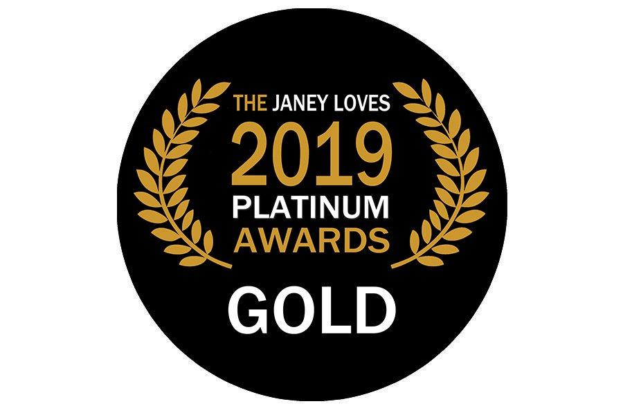 he Janey Loves Platinum Awards 2019 – Natural Suncare Gold