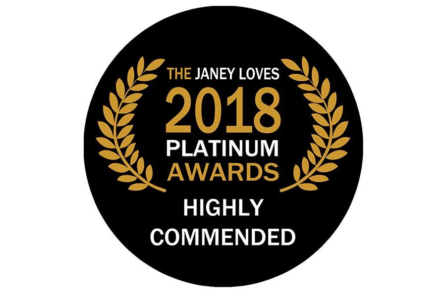Janey Loves Platinum Awards – highly commended